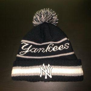 New York Yankees MLB New Era Pom Beanie Winter Hat